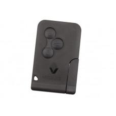 Ключ карта Рено – 3 кнопки